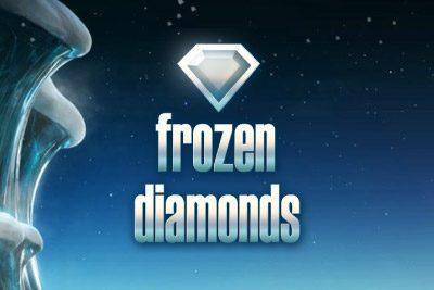 Frozen Diamonds Slot logo
