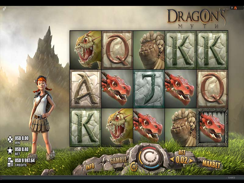 Dragon's Myth slot screenshot