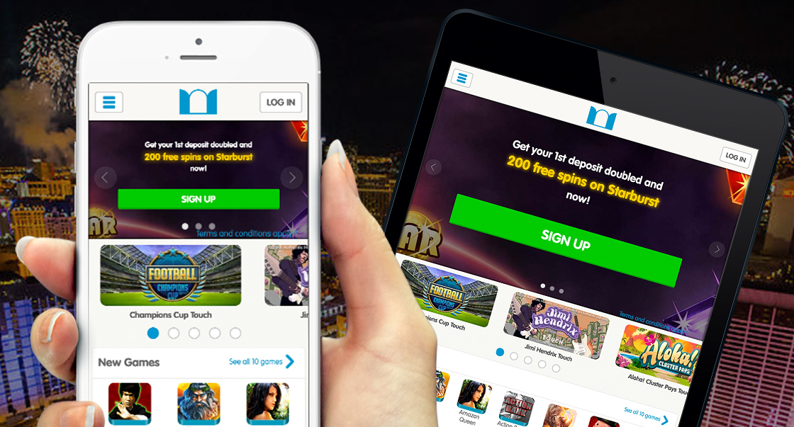 mobile casino sites with free signup bonus
