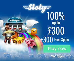 Sloty New Casino 2017 UK Welcome bonus
